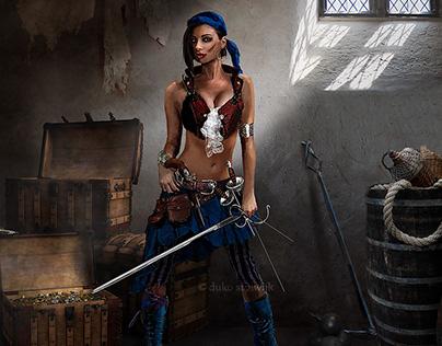 Pirate Girl Design