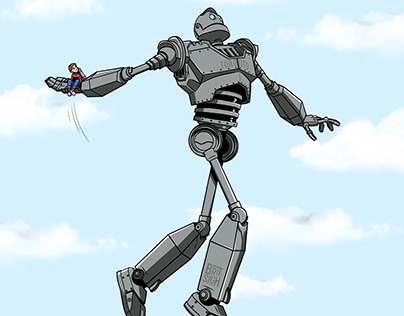 The Iron Giant / Vince Carter
