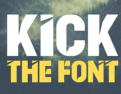 KICK THE FONT