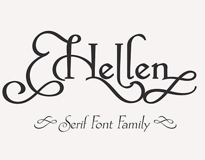 Hellen - FREE FONT BONUS