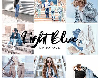 LIGHT BLUE – 6 Adobe Lightroom Presets FREE