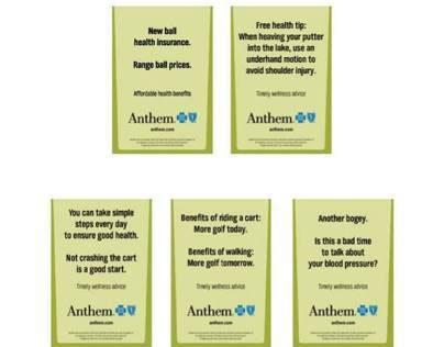 Anthem Health Care Management Brochure on Behance