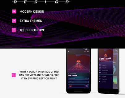 Wave- music player app