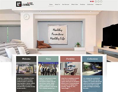 LivingPlus - Hong Kong Web Design