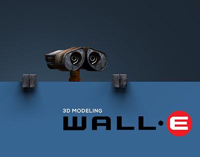 3D MODELING WALL-E