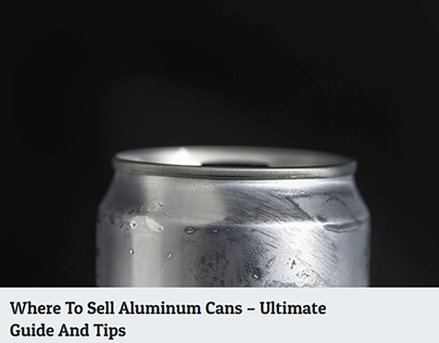Where To Sell Aluminum Cans