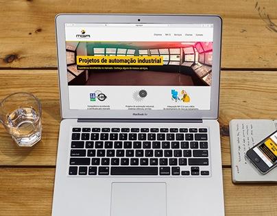 Screenshot do projeto MGA Automação Industrial