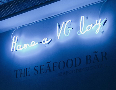 VG The Seafood Bar Branding