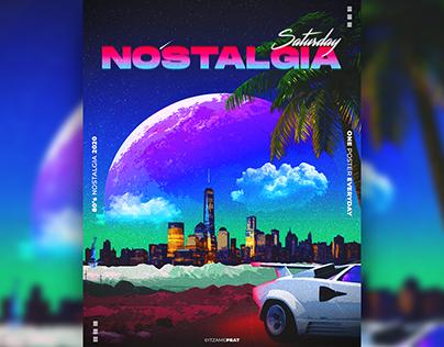 80s NOSTALGIA // POSTER