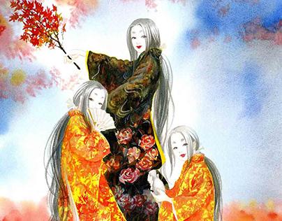 A Short Comics Introducing Hiroshima Kagura