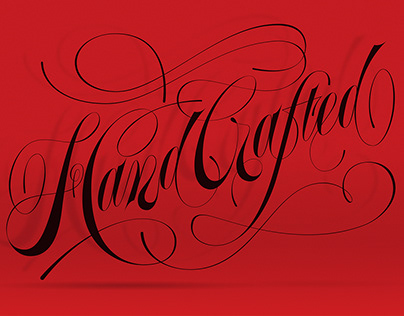 Hand Crafted lettering