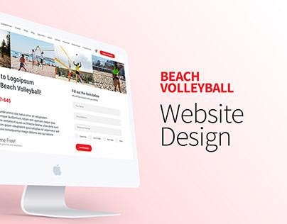 Beach Volleyball Web UI