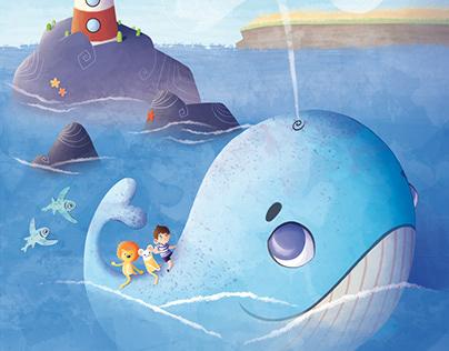 Aventure à dos de baleine