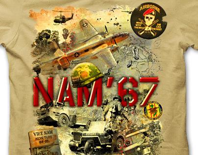 NAM '67 t-shirt