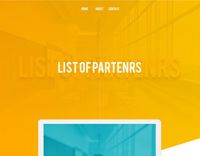 List of partners - Website