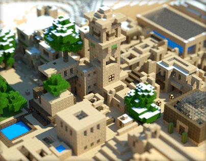 Minecraft and Octane Render