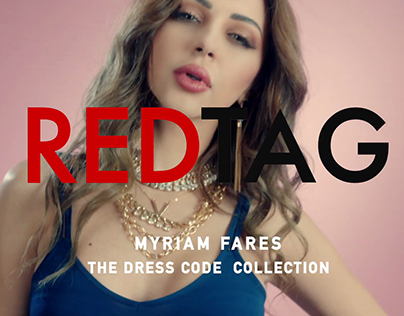 REDTAG Campaign starring Myriam Fares