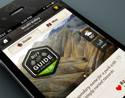 National Parks by National Geographic for iPhone