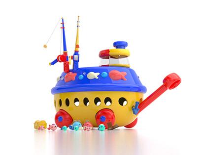 Mystery Fishing Game - Preschool toy (playset)