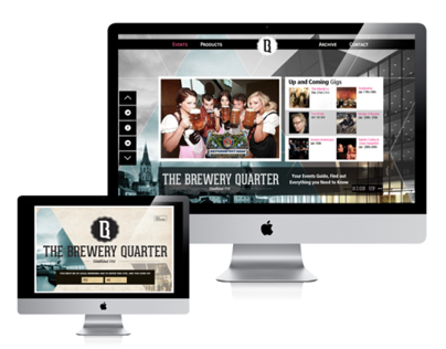 The Brewery Quarter Website