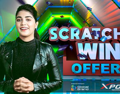 Adata XPG Scratch & Win Offer