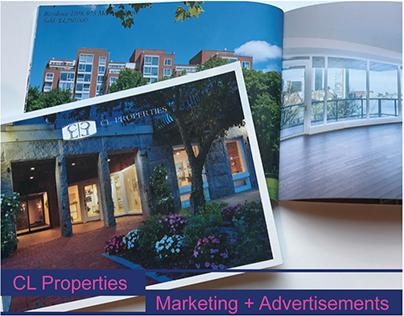 CL Properties   Marketing + Advertisements