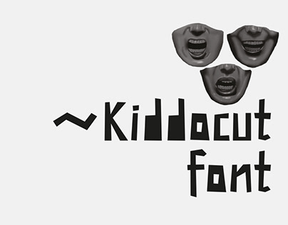 Kiddocut Font