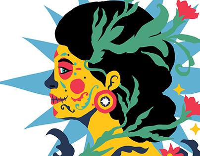 Día de Muertos Set / Adobestock