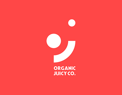Organic Juicy Co. - Logo Design and Branding