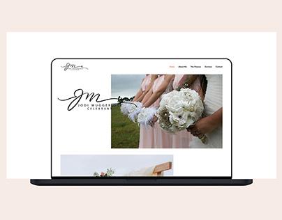 Elegant Website Design for Wedding Celebrant