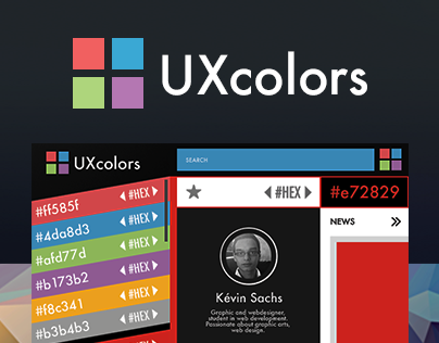 UI / UX Design Inspiration : UXColors | Mobile