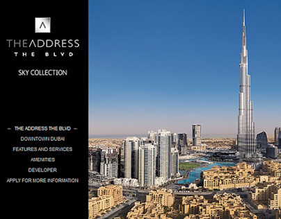 The Address BLVD, Downtown Dubai