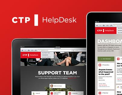 CTP | HelpDesk microsite