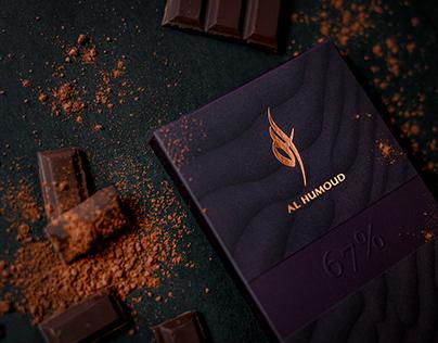 Al Humoud. Premium chocolate brand
