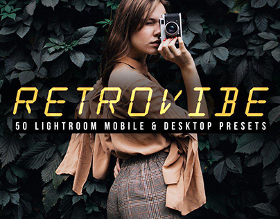 Retrovibe - 50 Lightroom Presets