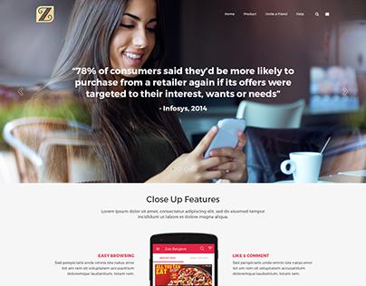 Zulu - Shop The Digital Way Website UI/UX