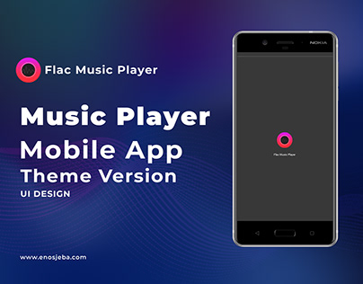 Flac Music Player Mobile App (Theme Version)