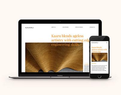 Kaaru - Website