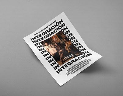 Integración - Film poster design