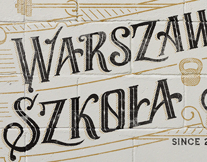 Warszawska Szkoła Siły | Logo & T-shirt