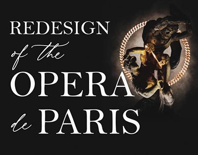 Redesign Opera de Paris