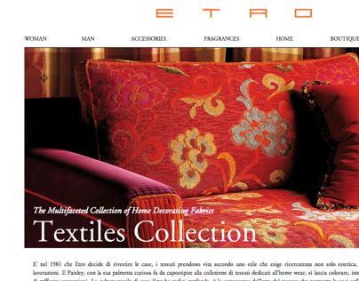 ETRO webe site