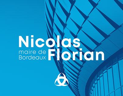 Nicolas Florian, maire de Bordeaux - Collectif Cosme