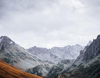 to the peak