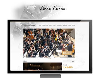 Web Design www.ferrerferran.com