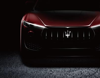 Maserati&Tmall 双十一联合海报