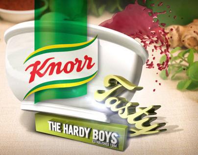 Knorr illustrations & package designs