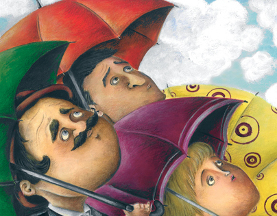 Tra le nuvole / Among the clouds (children's book)