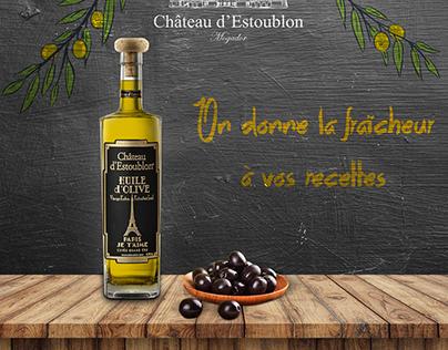 Olive oil Château d'estoublon