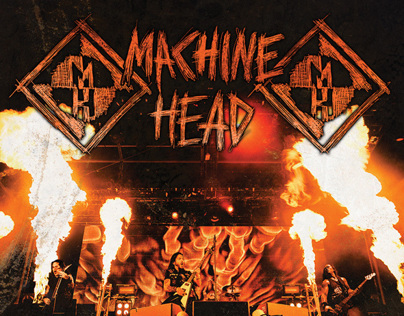 Machine Head Live Album Cover